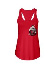 husky T-shirt  Ladies Flowy Tank thumbnail