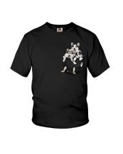 husky T-shirt  Youth T-Shirt thumbnail