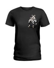 husky T-shirt  Ladies T-Shirt thumbnail