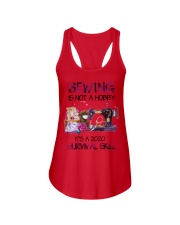 Sewing Is Not A Hobby It'S A 2020 DACHSHUND Ladies Flowy Tank thumbnail