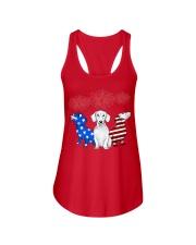 dachshund Ladies Flowy Tank thumbnail