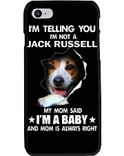 I'm telling you i'm not a jack russell Phone Case thumbnail