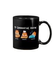 My Quarantine Routine Pomeranian3 Mug thumbnail