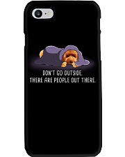 Don'T Go Outside There Are People Out poodle 1 Phone Case thumbnail