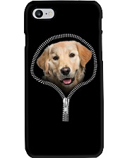 golden retriever Phone Case tile