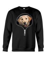 golden retriever Crewneck Sweatshirt tile