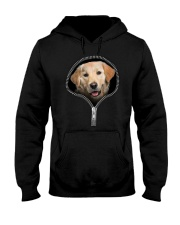 golden retriever Hooded Sweatshirt tile