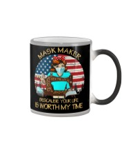 your life is worth my time sewing Color Changing Mug thumbnail