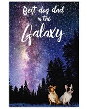 Best Dog Mom In The Galaxy frenchie dad 11x17 Poster front