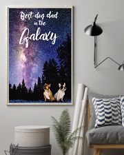 Best Dog Mom In The Galaxy frenchie dad 11x17 Poster lifestyle-poster-1