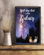 Best Dog Mom In The Galaxy frenchie dad 11x17 Poster lifestyle-poster-3