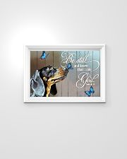 dachshund 24x16 Poster poster-landscape-24x16-lifestyle-02