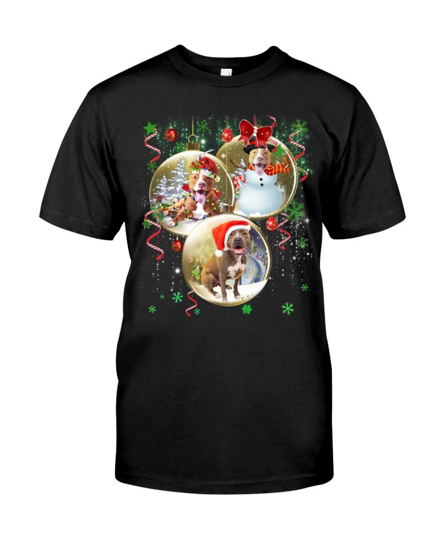 Pitbull T-shirt Best gift for friend Classic T-Shirt