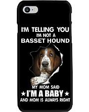 I'm telling you i'm not a basset hound Phone Case thumbnail