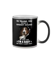 I'm telling you i'm not a basset hound Color Changing Mug thumbnail