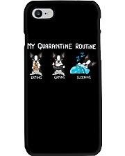 My Quarantine Routine boston Phone Case thumbnail