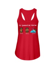 Rottweiler2 Ladies Flowy Tank tile