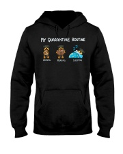 Rottweiler2 Hooded Sweatshirt thumbnail