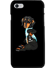 Dachshund Love Mom Phone Case tile