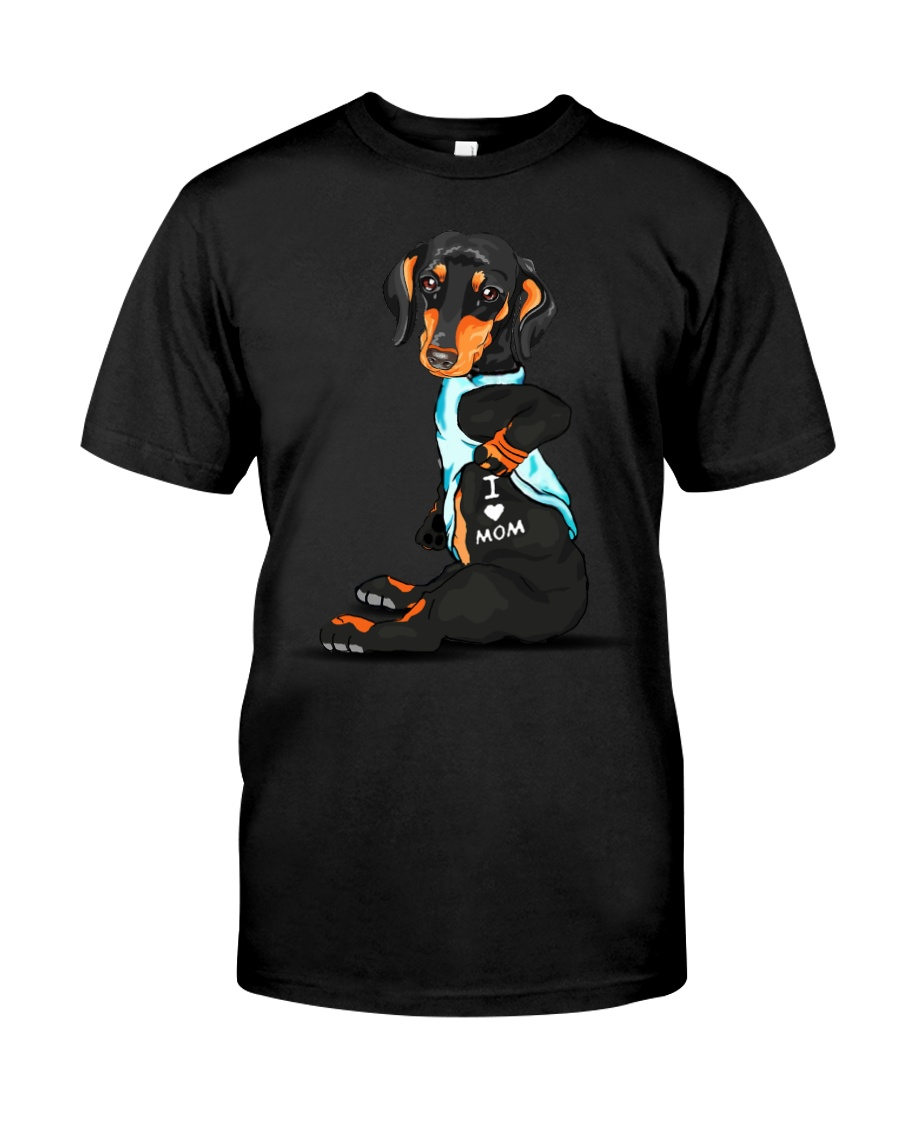 Dachshund Love Mom Classic T-Shirt