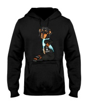 Dachshund Love Mom Hooded Sweatshirt tile