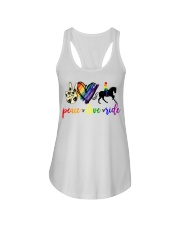 horse and girl 2 Ladies Flowy Tank thumbnail