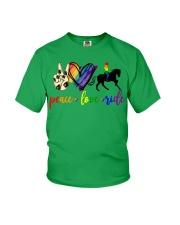 horse and girl 2 Youth T-Shirt thumbnail