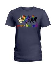 horse and girl 2 Ladies T-Shirt thumbnail