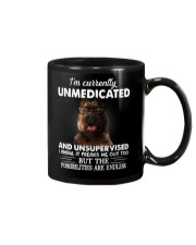 Im Curently Unmedicated And Unsuper Vised pitbull Mug thumbnail