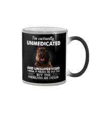 Im Curently Unmedicated And Unsuper Vised pitbull Color Changing Mug thumbnail