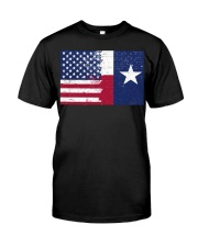 texas color Classic T-Shirt front