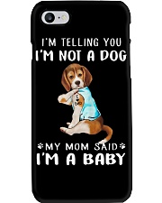 Beagle I'm Telling You I'm Not A Dog Phone Case thumbnail