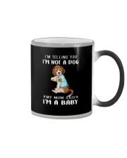 Beagle I'm Telling You I'm Not A Dog Color Changing Mug thumbnail