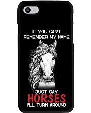 If You Can'T Remeber My Name Just Say Horses Phone Case thumbnail