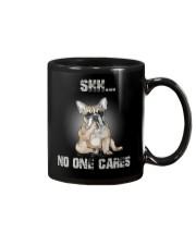 Shh No One Cares French Bulldog Mug thumbnail