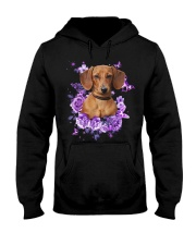 Dachshund T-shirt Christmas gift for friend Hooded Sweatshirt thumbnail