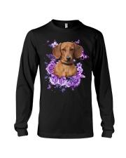 Dachshund T-shirt Christmas gift for friend Long Sleeve Tee thumbnail