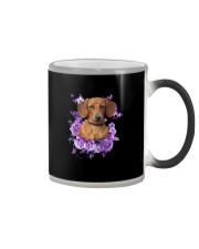 Dachshund T-shirt Christmas gift for friend Color Changing Mug thumbnail