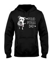 Pitbull Proud Pitbull Dad Hooded Sweatshirt thumbnail