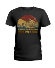 Best Yorkshire Terrier Mom Ever Ladies T-Shirt thumbnail