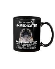 I'm currently unsupervised i know pug Mug thumbnail