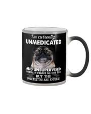 I'm currently unsupervised i know pug Color Changing Mug thumbnail