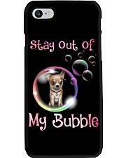 Stay Out Of My Bubble Chihuahua Phone Case thumbnail