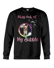 Stay Out Of My Bubble Chihuahua Crewneck Sweatshirt thumbnail