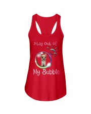 Stay Out Of My Bubble Chihuahua Ladies Flowy Tank thumbnail