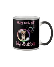 Stay Out Of My Bubble Chihuahua Color Changing Mug thumbnail