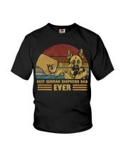 Best German Shepherd Dad Ever Youth T-Shirt thumbnail