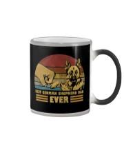 Best German Shepherd Dad Ever Color Changing Mug thumbnail