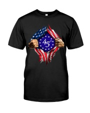 flag size ao Classic T-Shirt front