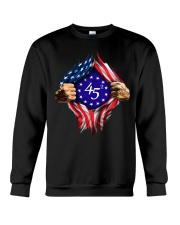 flag size ao Crewneck Sweatshirt thumbnail